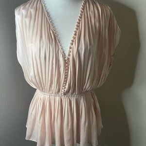 Elizabeth and James pale pink top, SZ small